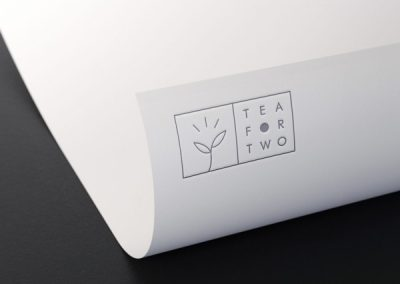 Papier Tea For Two