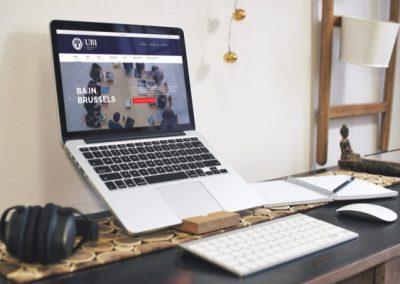 """United Business Institute - Université </br> <a href=""""https://rdigital.be/services"""">Création de site web vitrine</a>"""